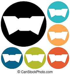 Simple Bow Tie icon