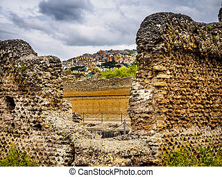 Villa Adriana - Ancient ruins of Villa Adriana, residence of...