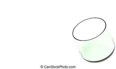 Whisky glass tumbler