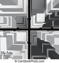 City Cube Top View 2