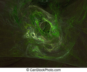 abstract organic background - abstract green organic...