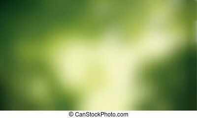 Nature landscape blurred widescreen - Vector Illustration Of...