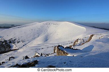 Slovakia winter mountain - Velka Fatra