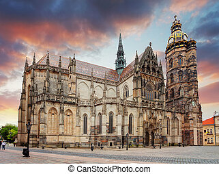 Kosice, Cathedral of St. Elizabeth,  Slovakia