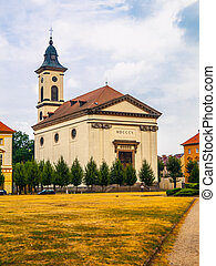 Church in Terezin - Baroque Church of Resurrection of Our...