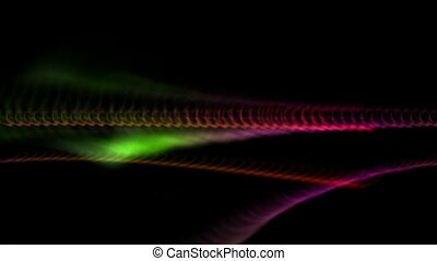 Abstract strokes of light HD,aurora,seamless loop