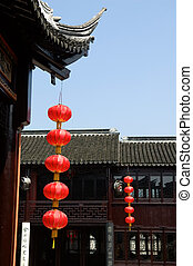 Architecture of Chinese temple - The architecture structure...