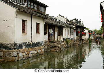 Water town - The water town in China, Zhou Zhuang