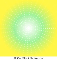 colour burst background with stars