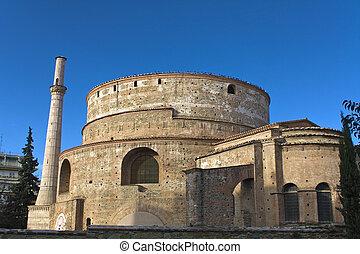 Galerius palace (Rotonda) temple at Thessaloniki, Greece