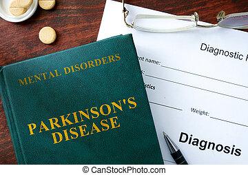 Parkinsons disease - Parkinson's disease concept. Diagnostic...
