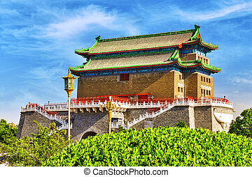 Beautiful Zhengyangmen Gate Qianmen Gate This famous gate is...