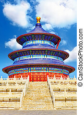 Wonderful and amazing temple - Temple of Heaven in Beijing....