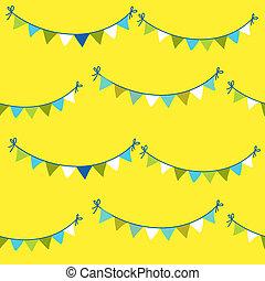 bambino, compleanno, fondo, celebrazione