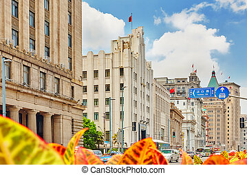 SHANGHAI, CHINA - MAY 25,2015:Beautiful view of Shanghai -...