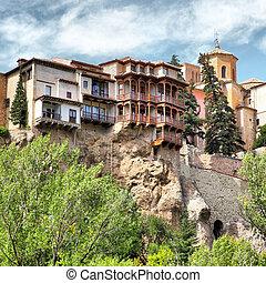 Cuenca - Hanging houses (Casas Colgadas) in Cuenca, Castilla...