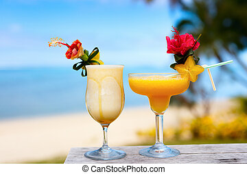 Exotic cocktails