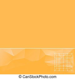 abstract background in yellow tones. Creative concept vector...
