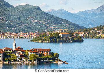 Lago Maggiore  -  view of Lago Maggiore,  Italy