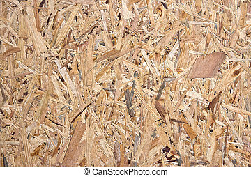 Wood chips background - Recycled and compressed wood...