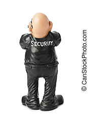 Toy security guard