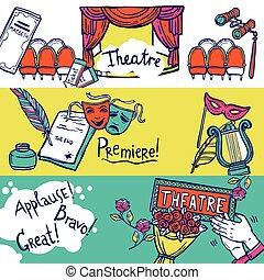 Theatre Banner Set