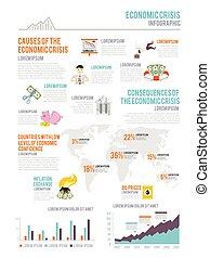 Economic Crisis Infographics