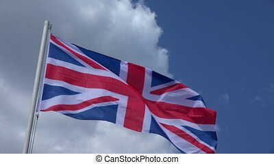 Flag Of United Kingdom. - Flag Of United Kingdom on the...
