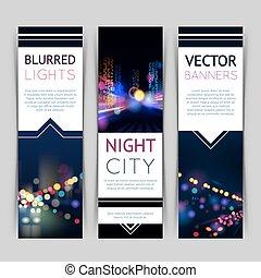 City Banner Vertical