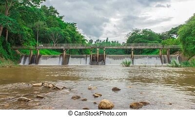 River locks In Thailand