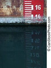 Water level scale