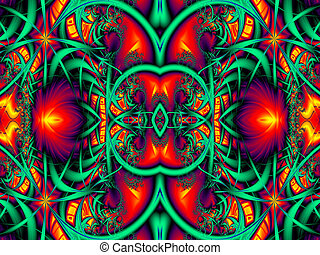 Fabulous Colorful abstract background. Artwork for creative...