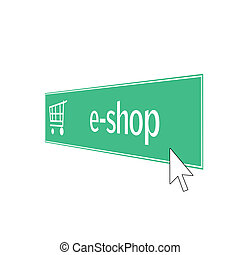 e-shop - web button