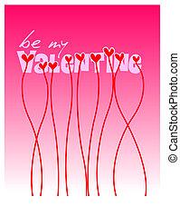 Valentine illustration - computer generated Valentine...