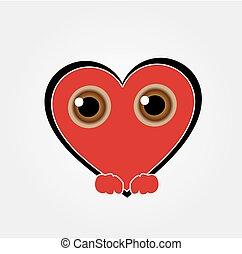 Heart Face Happy Emoticon