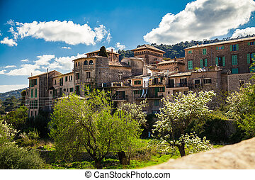 residential houses in Valldemossa