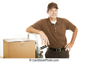 Delivery Man or Mover - Confident - Handsome, confident...