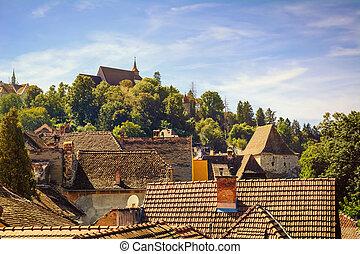 telhados,
