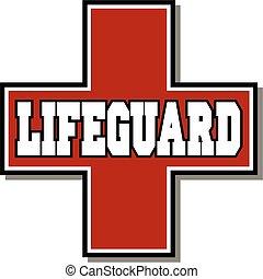 lifeguard - red lifeguard logo