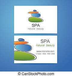 spa natural beauty - Spa - a beauty salon Stone pyramid as a...