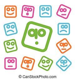 emotion icon set