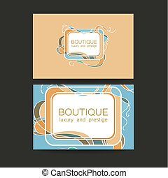 Boutique luxury prestige logo - Boutique logo. Template...