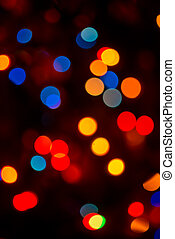 blur background - glitter vintage lights background red and...