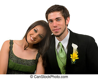 Prom - Teens at their prom