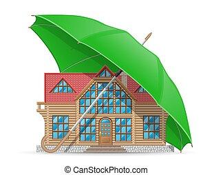 concept under umbrella