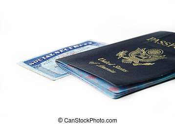 social security card - stock pictures of a social security...