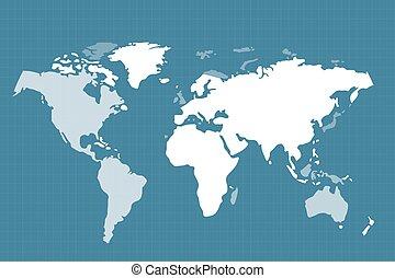 World map globe Earth texture - World map. Globe Earth...