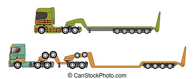 Oversize and overweight hauling trucks - Oversize and...
