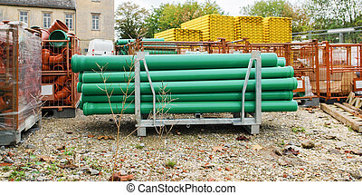 building material - tubes and other building materials