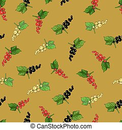 Currants - Seamless currants pattern